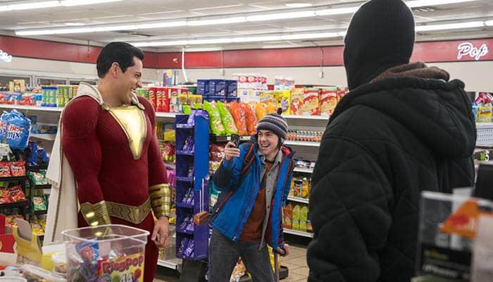 """""""¡Shazam!"""", número 1 en la taquilla USA"""