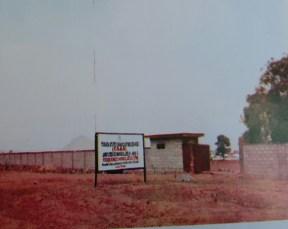 Walls ofhe TSBS Jalingo