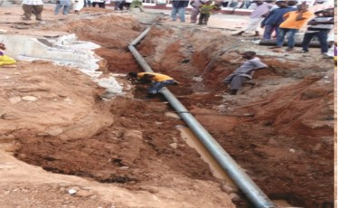 Pipe Laying Work