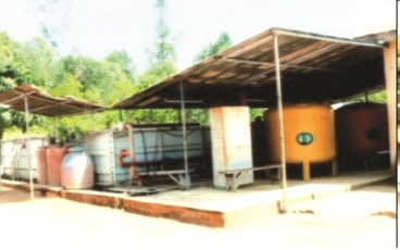 Water Treatment Facility, Gembu.