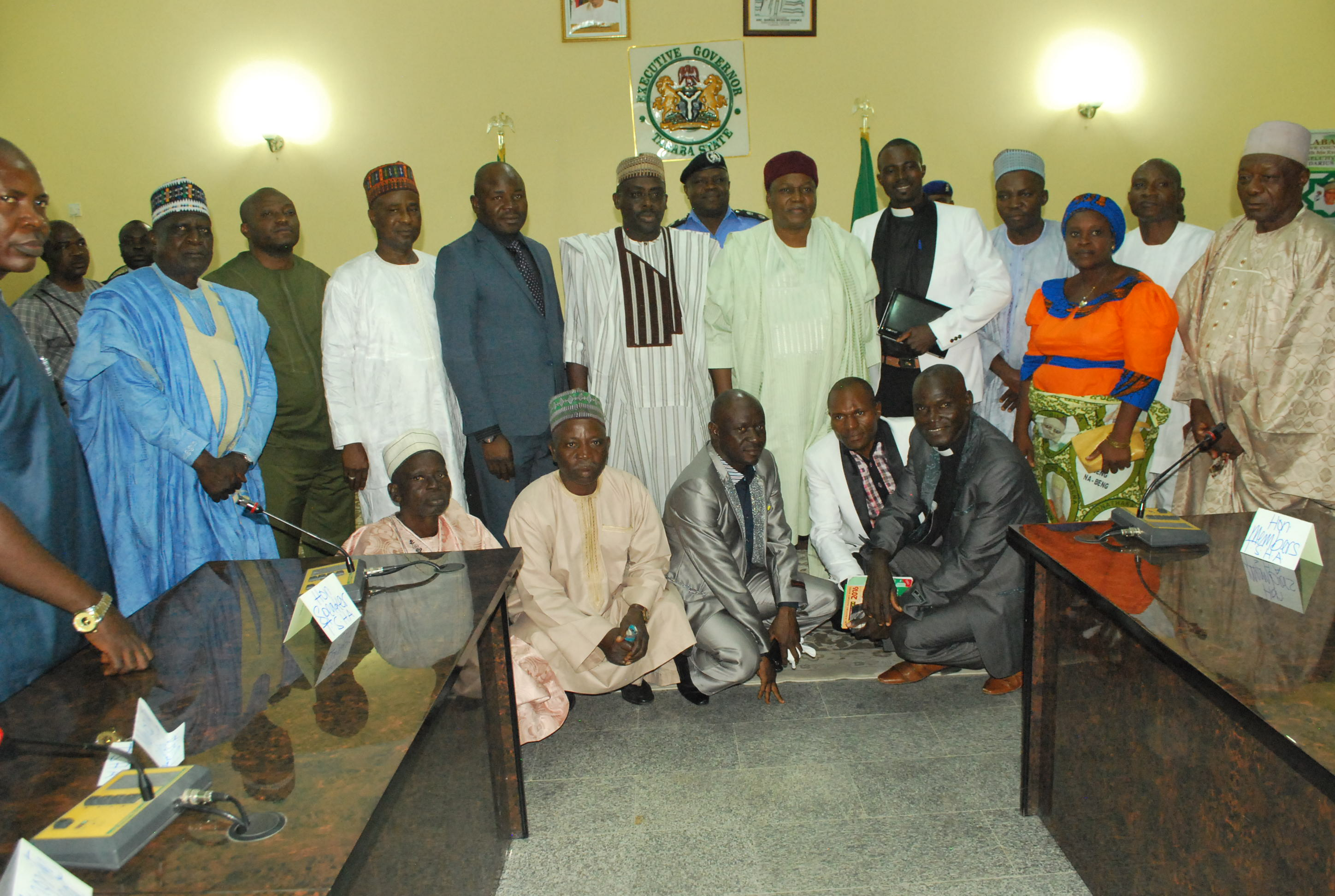 NGADA Delegates in Photograph with Gov. Ishaku