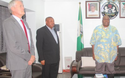Gov. Ishaku with German Investors