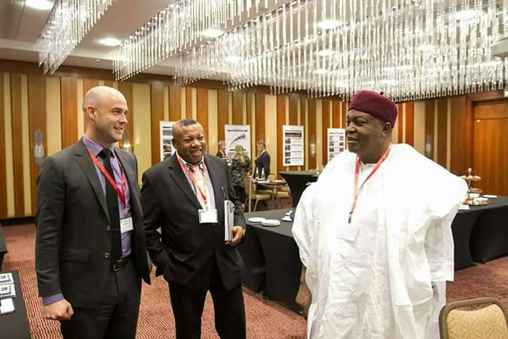 Gov. Darius Ishaku in Germany for the Conference of Minerals Mining Countries