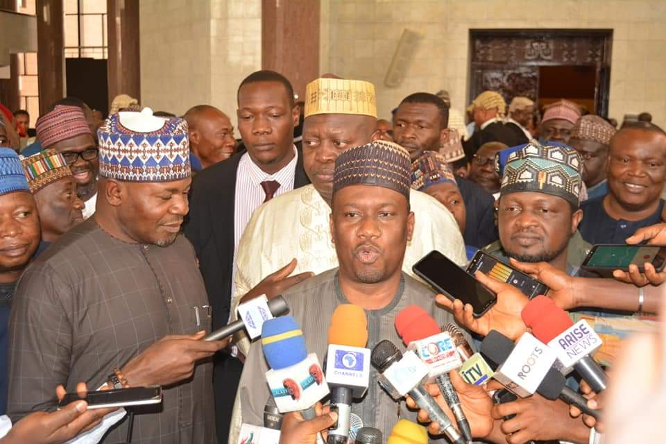 How Taraba Deputy Governor Reacted to the Declaration by the Supreme Court