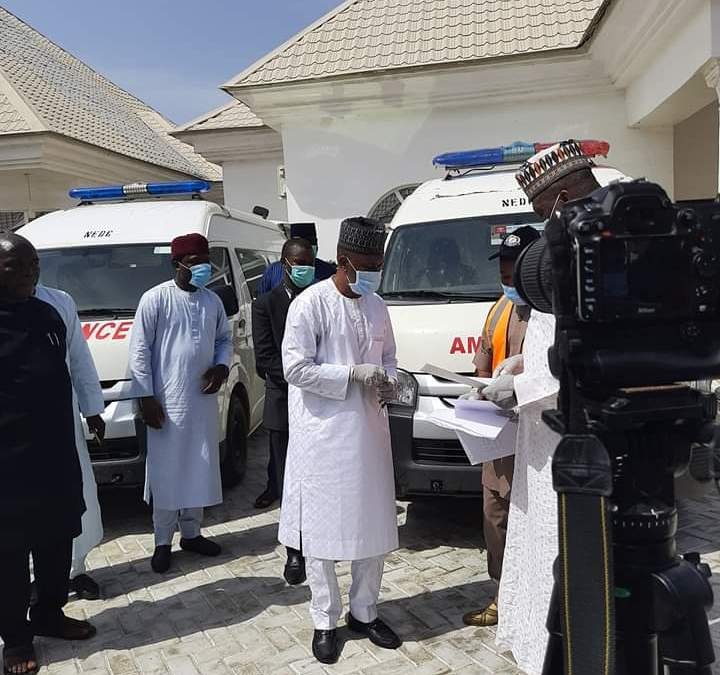 COVID-19: Taraba Gets Two Ambulances and Other Medical Materials from NEDC