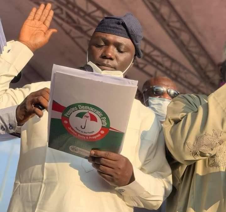 Taraba PDP Gets New Party Leadership