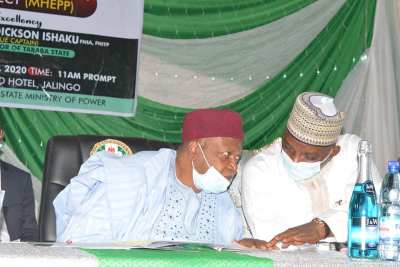 Gov. Ishaku and the Minister for Power