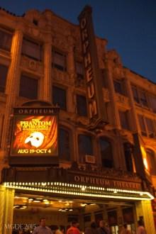 LUCK = Orpheium Theater + The Phantom of the Opera