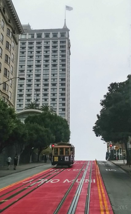 Cable car from another line.