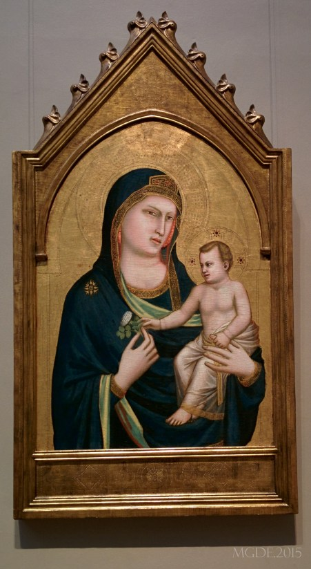 Giottos, Madonna and Child, 1310/1315.