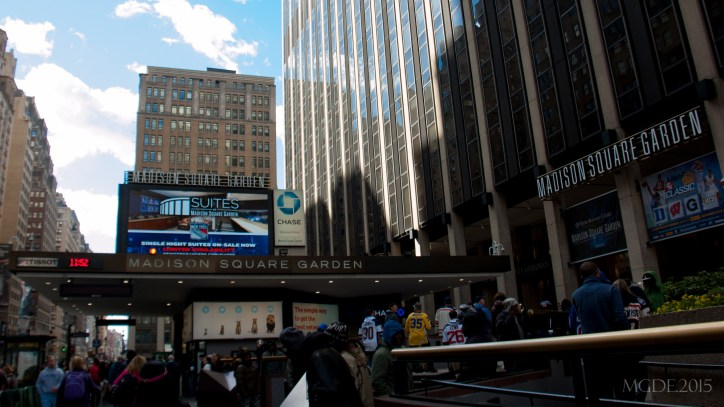 Madison Square Garden and Penn Plaza