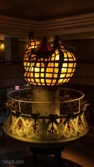 One of the Torch and Flame of the Statue of Liberty now sits at the lobby of the museum.