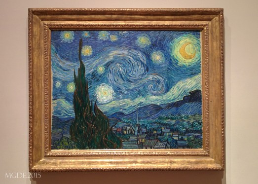 The Starry Night by Vincent van Gogh, 1889.
