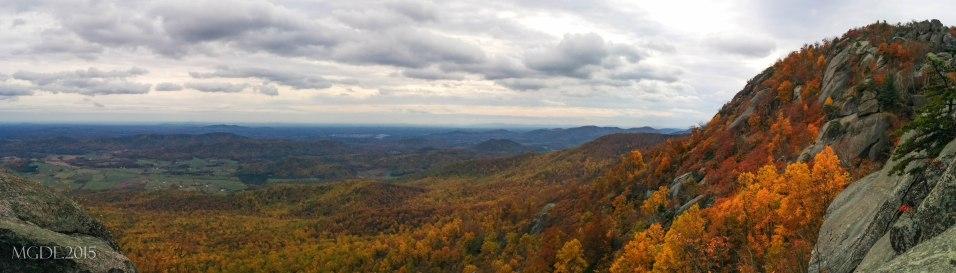 False summit of Old Rag Mountain