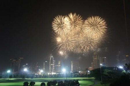 シンガポールF1ナイトレースの日は、マリナベイゴルフクラブが夜景価格ともに穴場