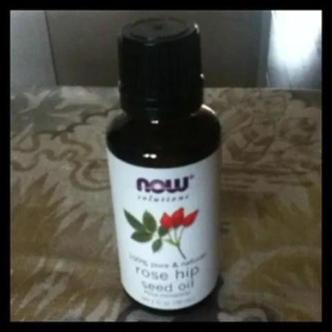 ローズヒップオイルは毛穴と美白に有効 Now Foods Rose Hip Seed Oil