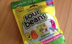 グルテンフリー Yummy Earth Naturals Sour Jelly Beans サワービーンズ
