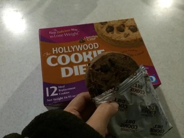 【置き換えダイエット】Hollywood Dietのチョコチップクッキー