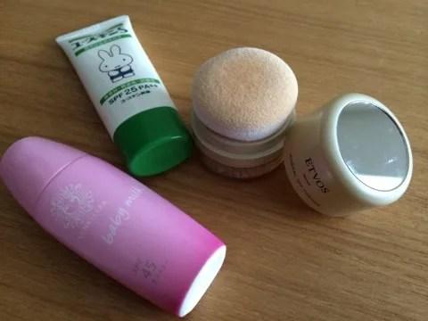 石鹸で落とせる日焼け止め 肌断食中のUV対策