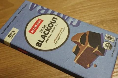 高カカオチョコレートは痩せる? Alter Eco Dark Blackoutはダークでも美味しい!