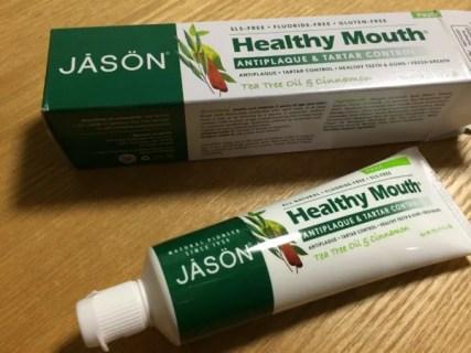 歯周病に効く歯磨き粉 Jason Natural Healthy Mouth