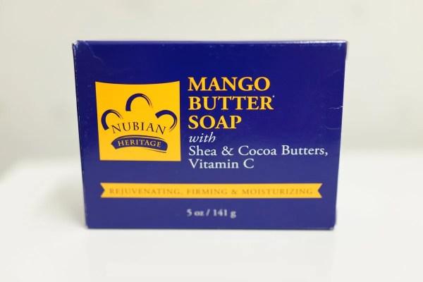 肌のハリと保湿力をUPさせる NUBIANのマンゴー石鹸 メイク落としにも!