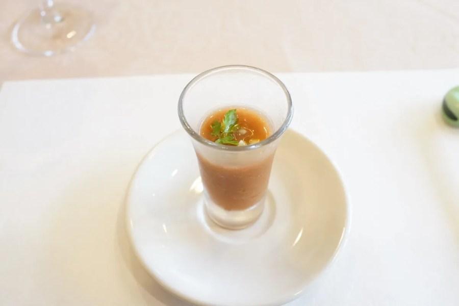欧風懐石 勝 - お箸で食べる創作フレンチメニュー写真 前菜アミューズ