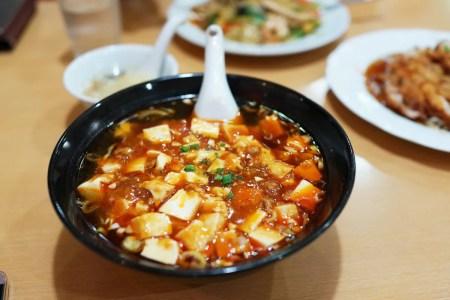 中華料理 福源 春日店 麻婆ラーメンが美味しくて汗がやばい