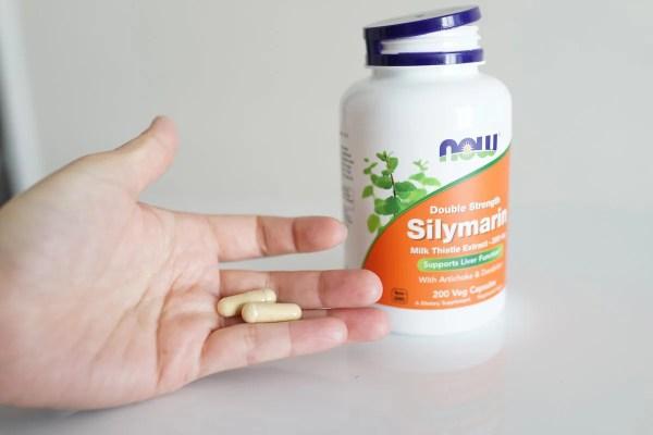 【シリマリン】肝臓・胆のう機能を改善するサプリ!美肌効果もあり
