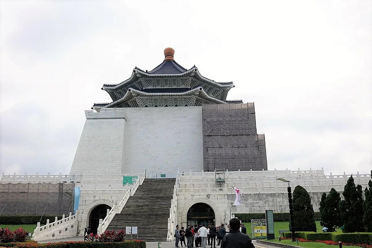 総統府、国立中正記念堂