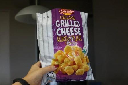 iHerbのトランス脂肪酸&ナッツ&グルテンフリーなSnikiddyのチーズパフ