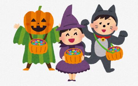 中秋の名月の晩に『お月見泥棒』とかいうハロウィンみたいにお菓子を貰いに来られる風習
