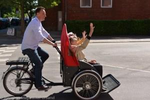 """Tanskasta lähtöisin oleva hanke """"Pyörällä kaiken ikää"""" rantautuu ensimmäisenä Suomessa Tampereelle. Kuva: Jonathan Maus"""