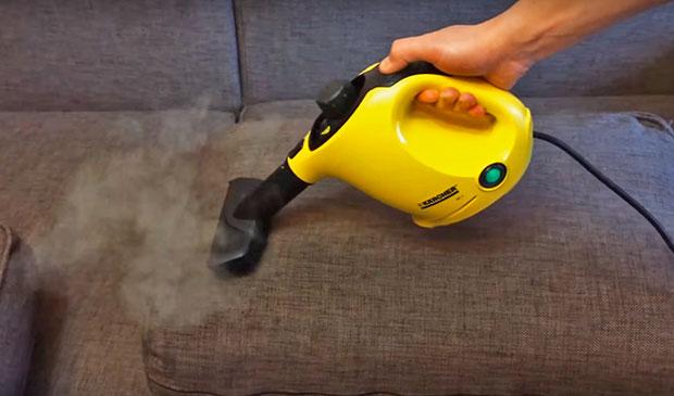 درمان حرارتی مبلمان با یک بیل مکانیکی در برابر شپش