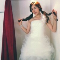 HwaYoung wedding dress selca