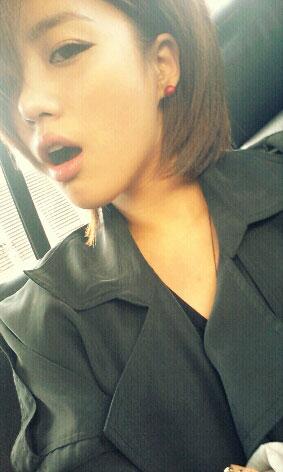 T-ara Eunjung selca