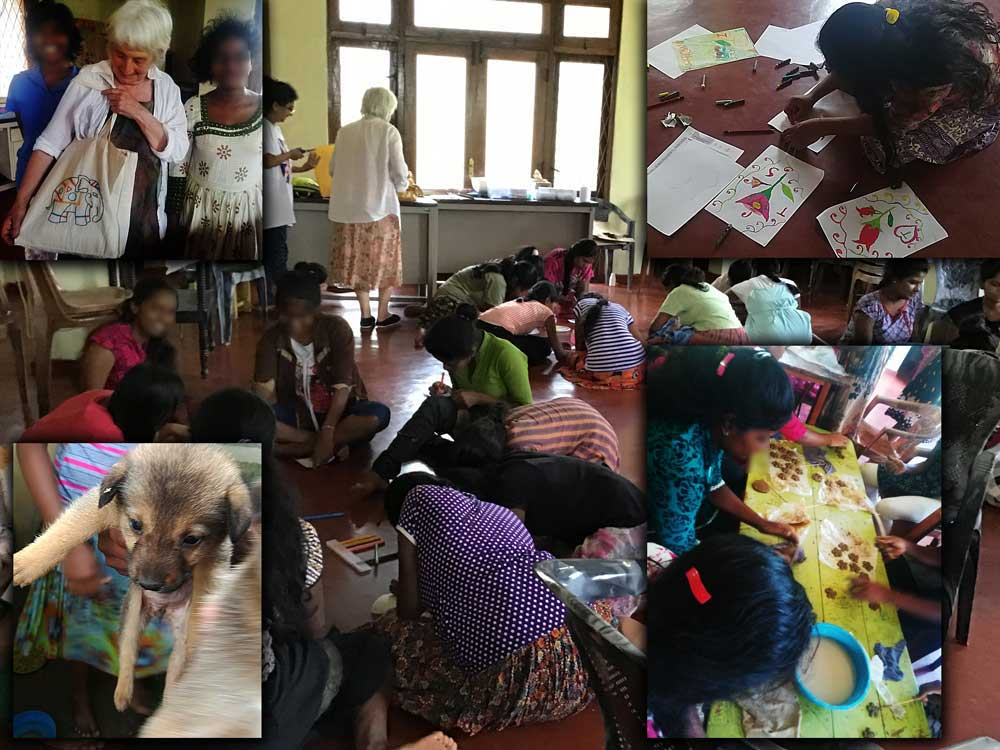 Haragama home for abused girls