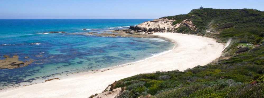 sorento back beach