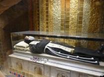 La dépouille de Padre Pio