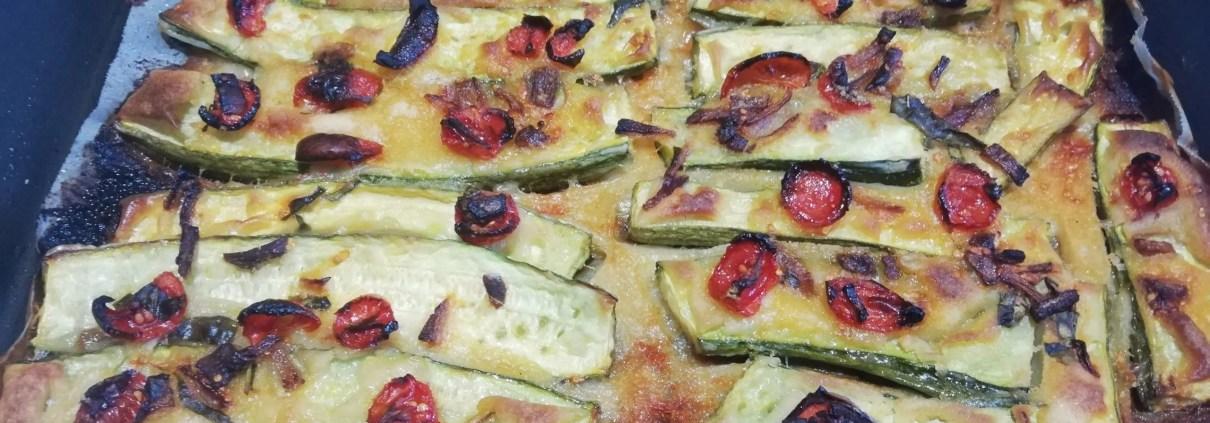 Zucchine pastellate al forno