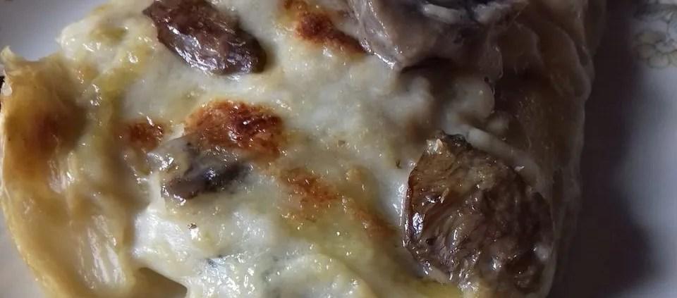 lasagna bianca ai funghi misti di rita