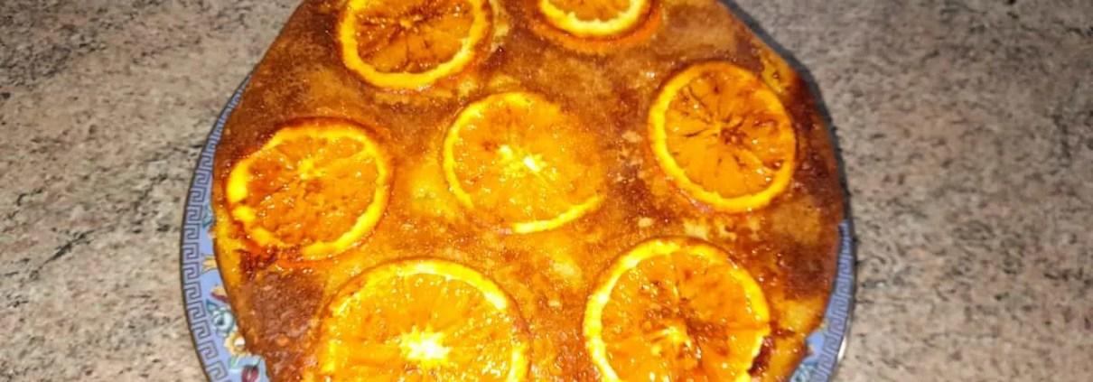 Torta all'arancia rovesciata di Sabrina