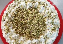 Cheesecake al pistacchio di Giada