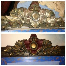 Gesso Mirror Restoration