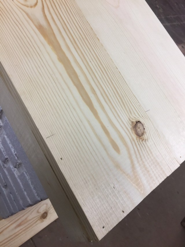 pine wood  mantel