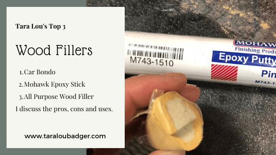 3 Best Wood Fillers