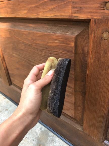 clear coating furniture