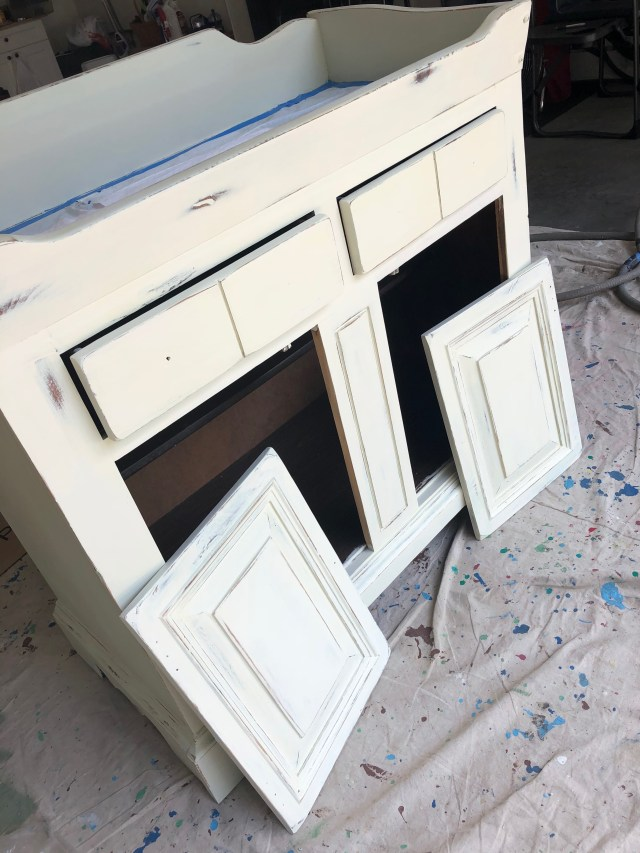 Painted Dry Sink