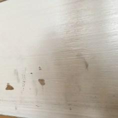 peeling paint from kitchen