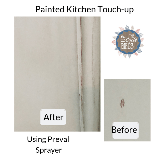 painted Kitchen cabinet touch-up